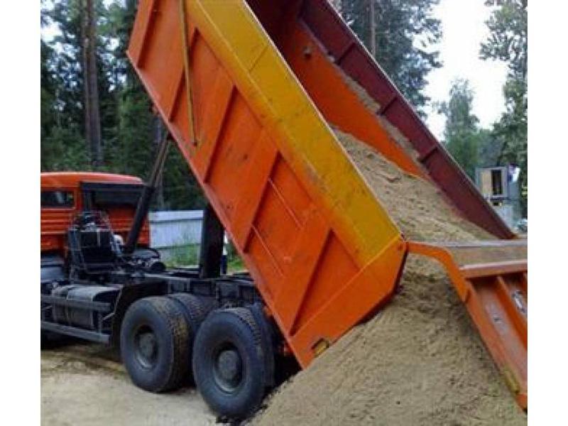 песок выгрузка